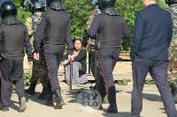 В Плеханово вновь сносят незаконные дома цыган, Фото: 12
