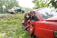 ДТП на трассе «Крым», «десятка» и Mazda. 25 июля 2013, Фото: 5