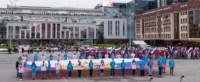 Велопробег в цветах российского флага, Фото: 17