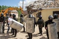 Плеханово, итоги дня: В таборе принудительно снесли первые 10 домов, Фото: 26