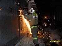 Пожар на ул. Михеева в ночь на 7 августа 2015 года, Фото: 3
