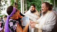 Крещение жителей Новомосковска, Фото: 57