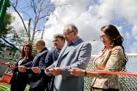 Открытие нового футбольного поля, Фото: 31