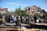 Демонтаж незаконных цыганских домов в Плеханово и Хрущево, Фото: 85