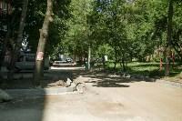 В Туле началось благоустройство скверов и дворов, Фото: 21