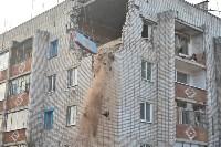 У дома, поврежденного взрывом в Ясногорске, демонтировали опасный угол стены, Фото: 57