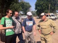 Евгений Авилов и блогеры в Баташевском парке, Фото: 2