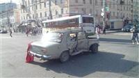 Авария на пересечении Красноармейского проспекта и ул. Дмитрия Ульянова, Фото: 1