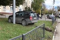 Пробка на проспекте Ленина. 27 сентября, Фото: 1