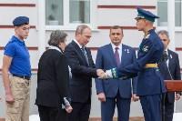 Путин в Суворовском училище, Фото: 70