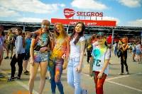 В Туле прошел фестиваль красок и летнего настроения, Фото: 105