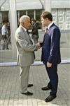18 августа 2011 г., инаугурация губернатора в кремле. Юрий Андрианов поздравил Владимира Груздева. И получил предложение поработать на благо туляков., Фото: 1