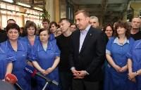Алексей Дюмин пообщался с сотрудниками ЗАО «Донская обувь», Фото: 16
