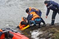 Учения спасателей на набережной Дрейера. 3 марта 2016 года, Фото: 40