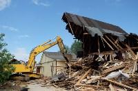 В Плеханово начали сносить дома в цыганском таборе, Фото: 77