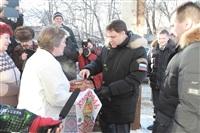 Владимир Груздев в Дубенском районе. 30 января 2014, Фото: 35