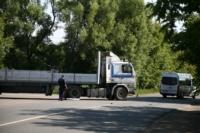 Авария на повороте на Косую Гору: микроавтобус и грузовик, Фото: 16