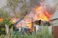 На улице Патронной загорелся частный дом, Фото: 2