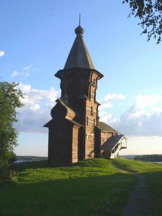 Успенская церковь, г. Кондопога.