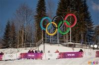 Состязания лыжников в Сочи., Фото: 15