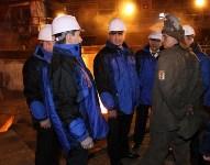 Врио губернатора Тульской области Алексей Дюмин посетил  ПАО «Тулачермет», Фото: 17