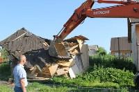 Снос домов в Плеханово. 23 июня 2016, Фото: 7