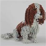 Скульптуры собак из велосипедных цепей, Фото: 1