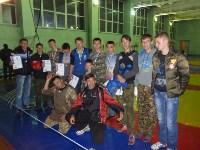 Ребята и руководители Роскошнянского военно-патриотического клуба Воин, Фото: 1