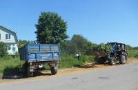 В Привокзальном округе Тулы выполняется ремонт тротуаров, Фото: 4