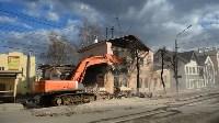 Снос аварийного дома на улице Октябрьской, Фото: 12