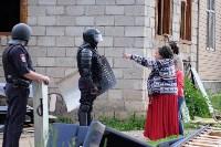 В Плеханово начали сносить дома в цыганском таборе, Фото: 27
