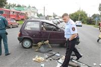 ДТП в Басова с участием четырёх автомобилей. 3 сентября 2013, Фото: 16