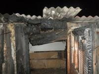 В Ефремове загорелся сарай, Фото: 1
