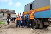 В Плеханово начали сносить дома в цыганском таборе, Фото: 79
