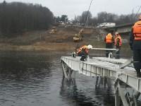 Монтаж моста в Архангельской области, Фото: 24