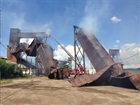 Пожар в Плавске, Фото: 1