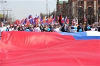 Тульская Федерация профсоюзов провела митинг и первомайское шествие. 1.05.2014, Фото: 47
