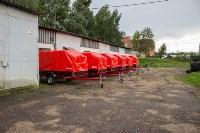 Тульское МЧС передало муниципальным образованиям области прицепы спасательных постов, Фото: 3