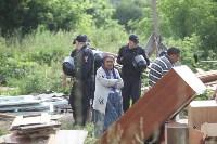 Демонтаж незаконных цыганских домов в Плеханово и Хрущево, Фото: 15