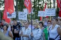 Митинг против пенсионной реформы в Баташевском саду, Фото: 44