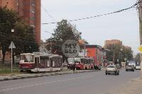 В Криволучье трамвай протаранил легковушку, Фото: 3