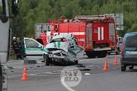 В ДТП под Тулой погибли три сотрудника УФСИН, Фото: 15