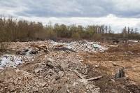 В Туле на берегу Тулицы обнаружен незаконный мусорный полигон, Фото: 25