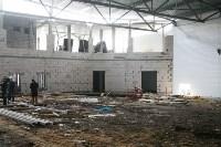 Строительство «Ледовой арены» в парке 250-летию ТОЗ. 28.03.2015, Фото: 8