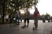 Туляки «погоняли» на самокатах в Центральном парке, Фото: 31