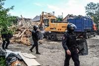Плеханово, итоги дня: В таборе принудительно снесли первые 10 домов, Фото: 3
