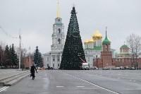 Завершается установка главной тульской городской ёлки , Фото: 1