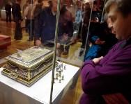 Ф Москве открылась выставка изделий тульских оружейников, Фото: 1
