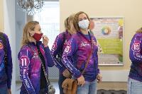 "Волейболистки ""Тулицы"" сделали прививки от гриппа, Фото: 4"