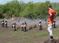 Юные мотоциклисты соревновались в мотокроссе в Новомосковске, Фото: 94